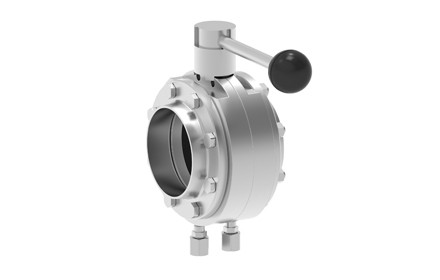 Mixproof butterfly valve T-smart 9